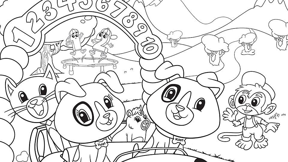 Kids Age 7 Coloring Pages - Coloring Home