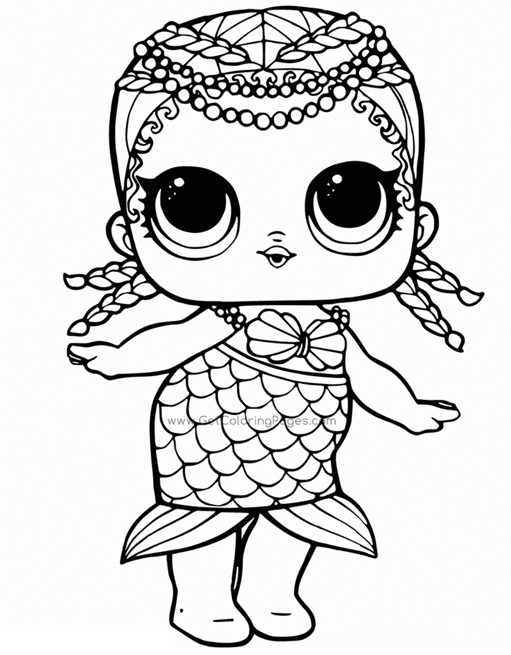 Lol Surprise Dolls Coloring Pages Print Them For Free All Coloring Home