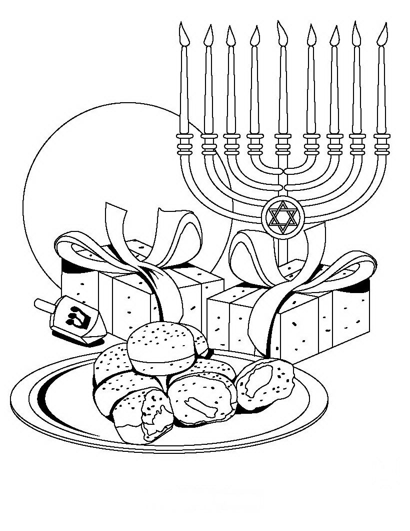 Printable Jewish Coloring Pages - Coloring Home