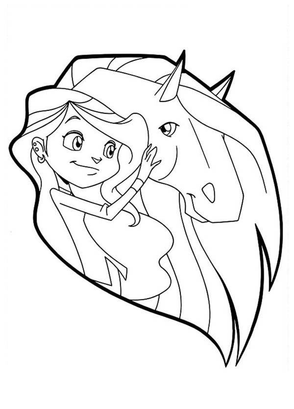 Horseland Alma Coloring Pages Coloring Home