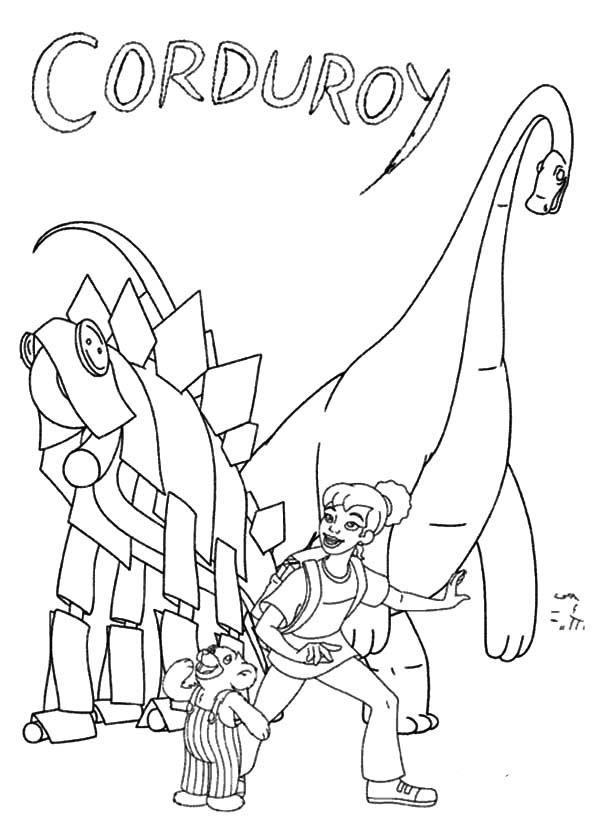 corduroy coloring pages - photo#29