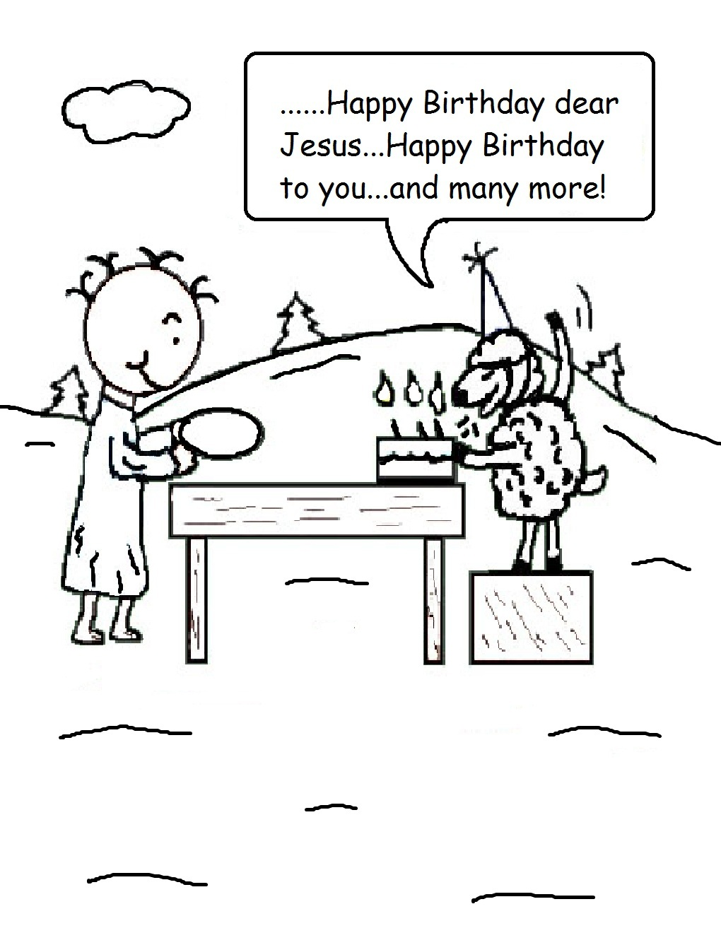 Happy Birthday Jesus Coloring Page Az Coloring Pages Happy Birthday Jesus Coloring Pages