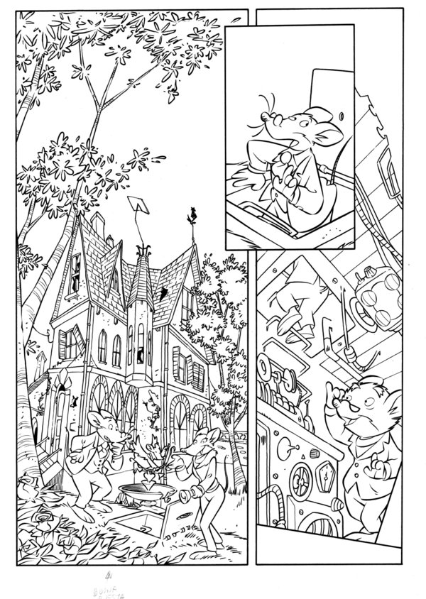 Geronimo Stilton Coloring Pages Coloring Home Geronimo Stilton Colouring Pages