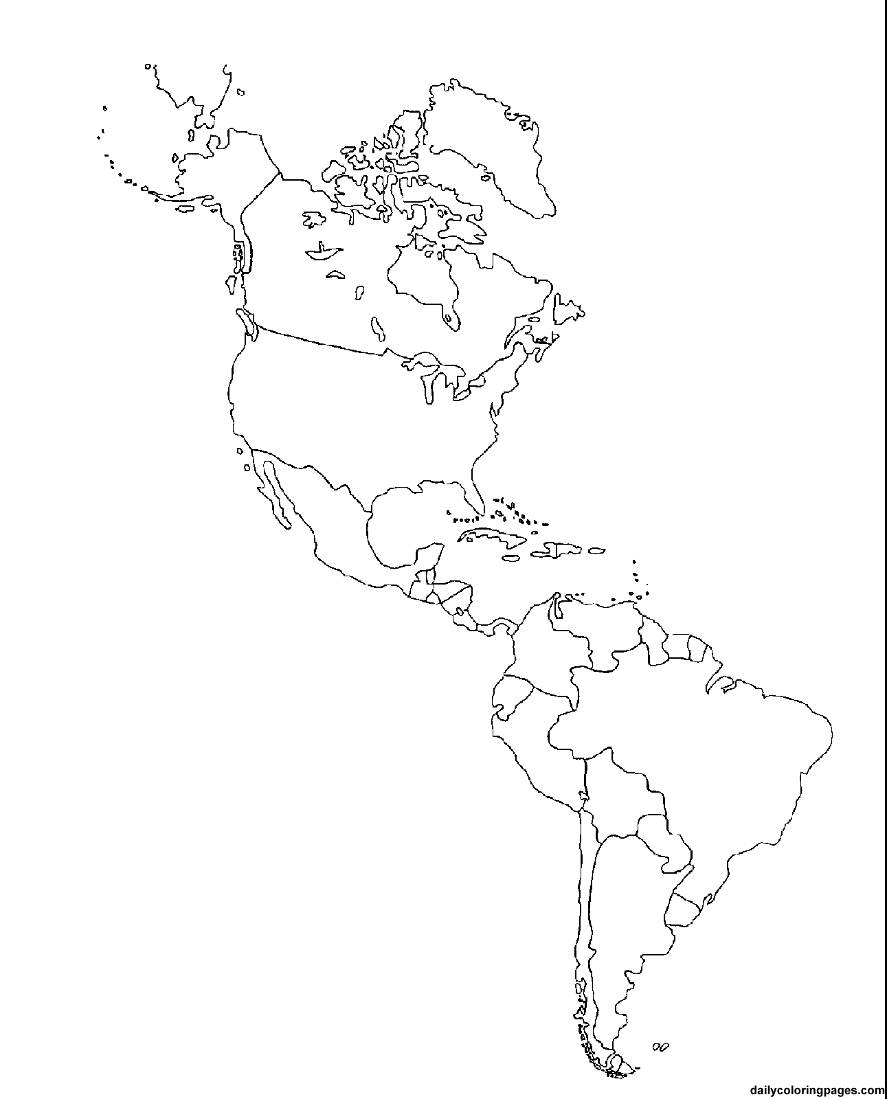 Map coloring pages for kids az coloring pages for Us map coloring page