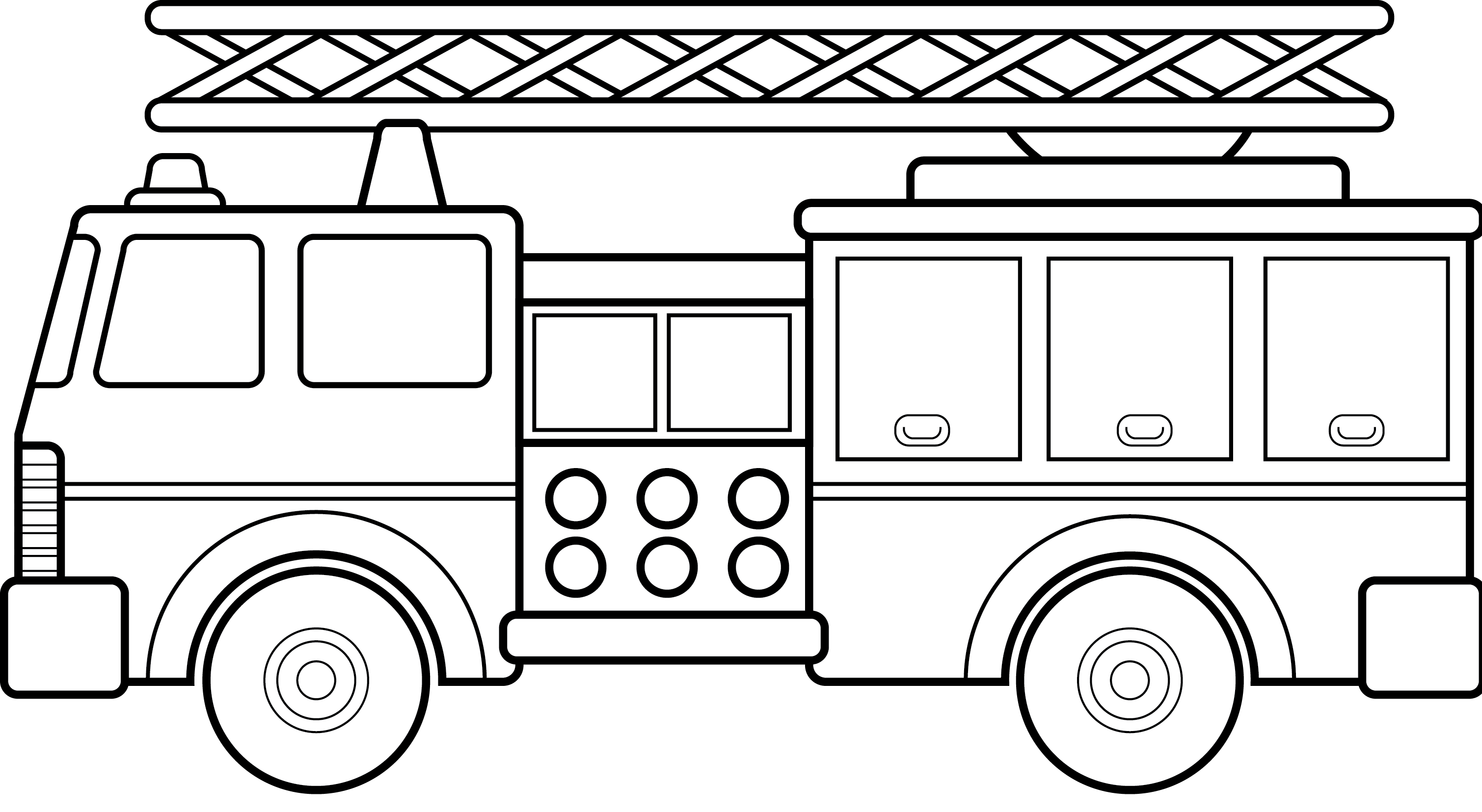 Cars And Trucks Coloring Pages High
