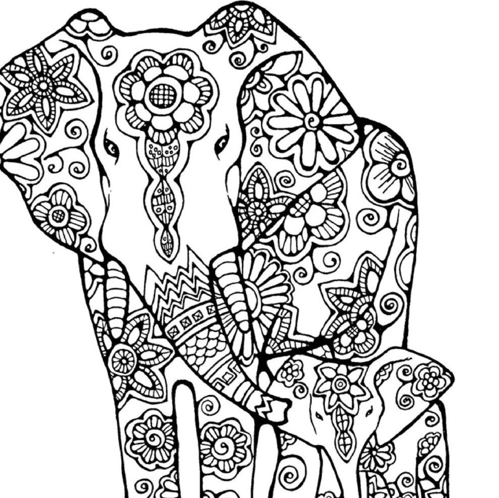 indian elephant coloring pages printable indian elephant coloring page coloring home