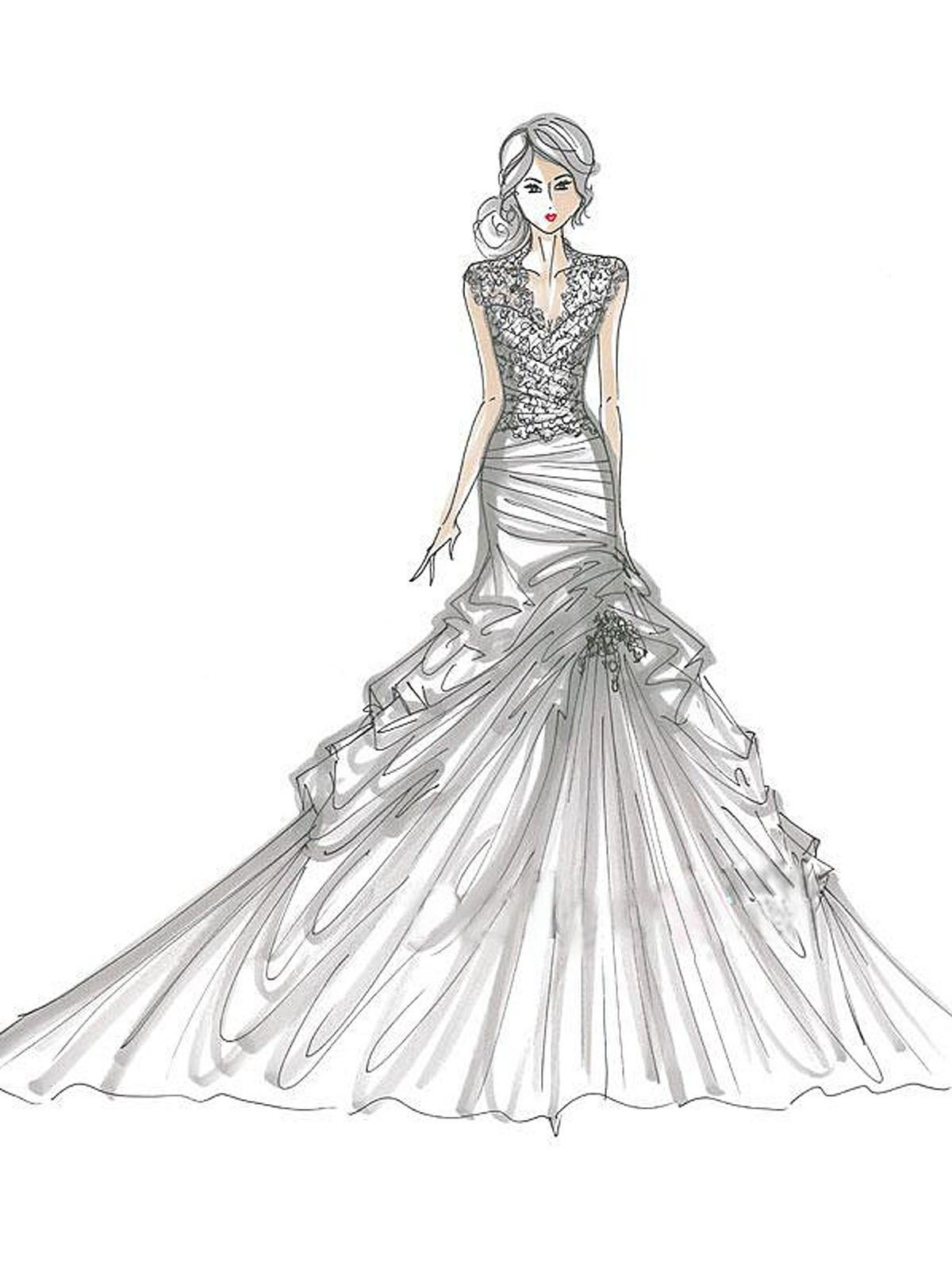 Wedding Dress Coloring Pages Print Coloring Coloring Pages