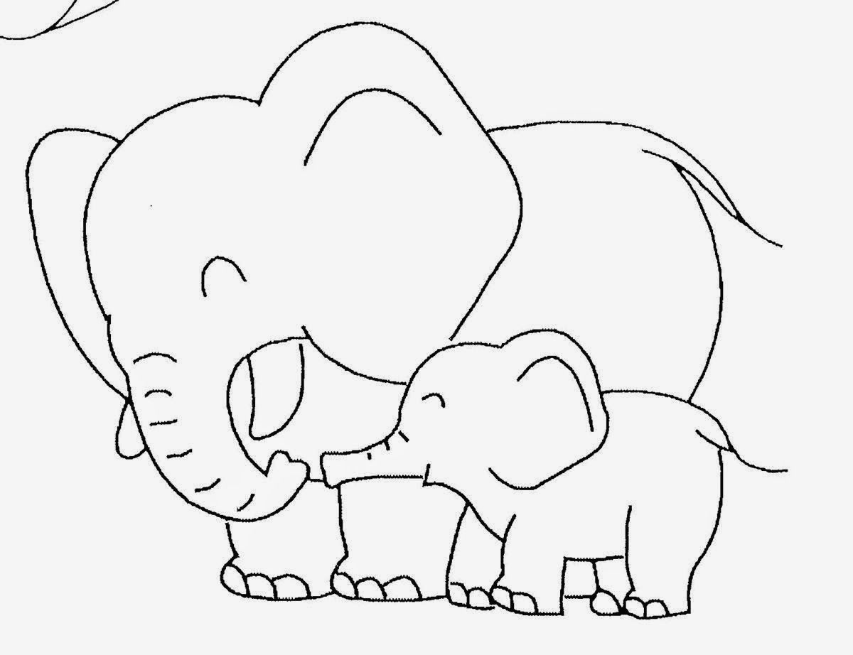 Piggie and gerald coloring pages az coloring pages for Piggie and elephant coloring pages