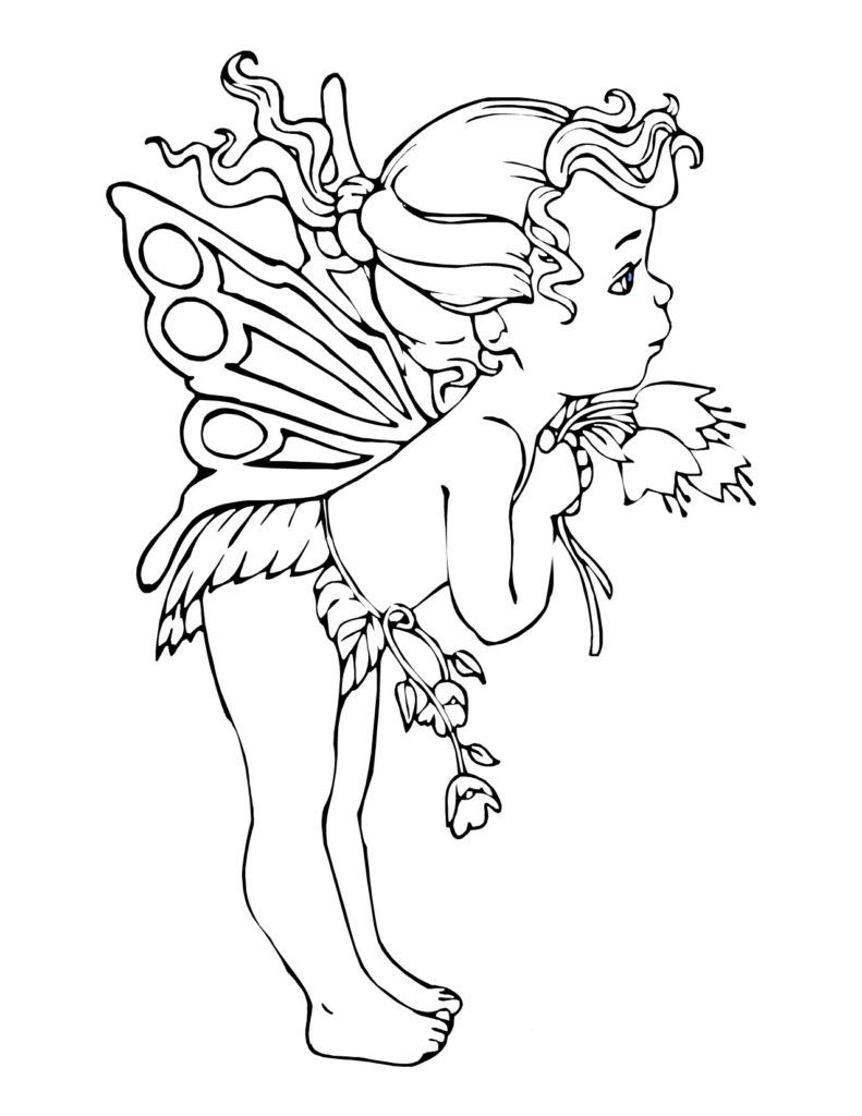 Coloring Pages: Ideas About Fairy Coloring Pages On Coloring Fairy ...