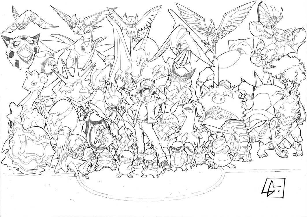 - Pokemon Coloring Pages Eevee Evolutions - Coloring Home