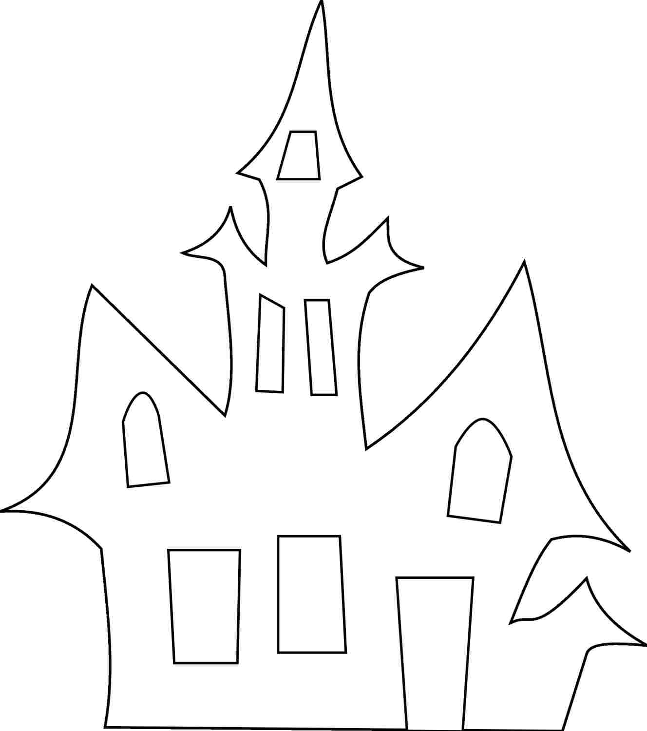 Halloween Cutouts Coloring Pages