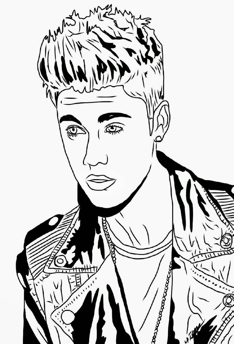 Marvelous Photo of Justin Bieber Coloring Pages | Coloring pages ... | 1392x950