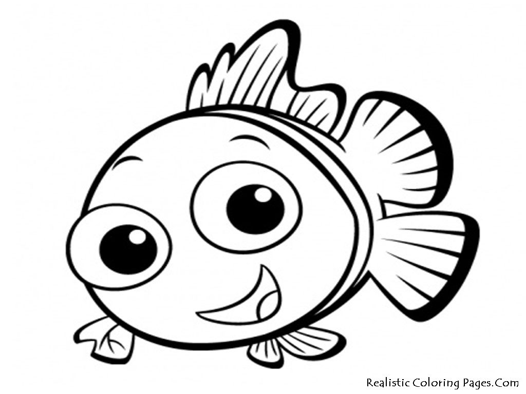Clownfish Coloring Page - Coloring Home