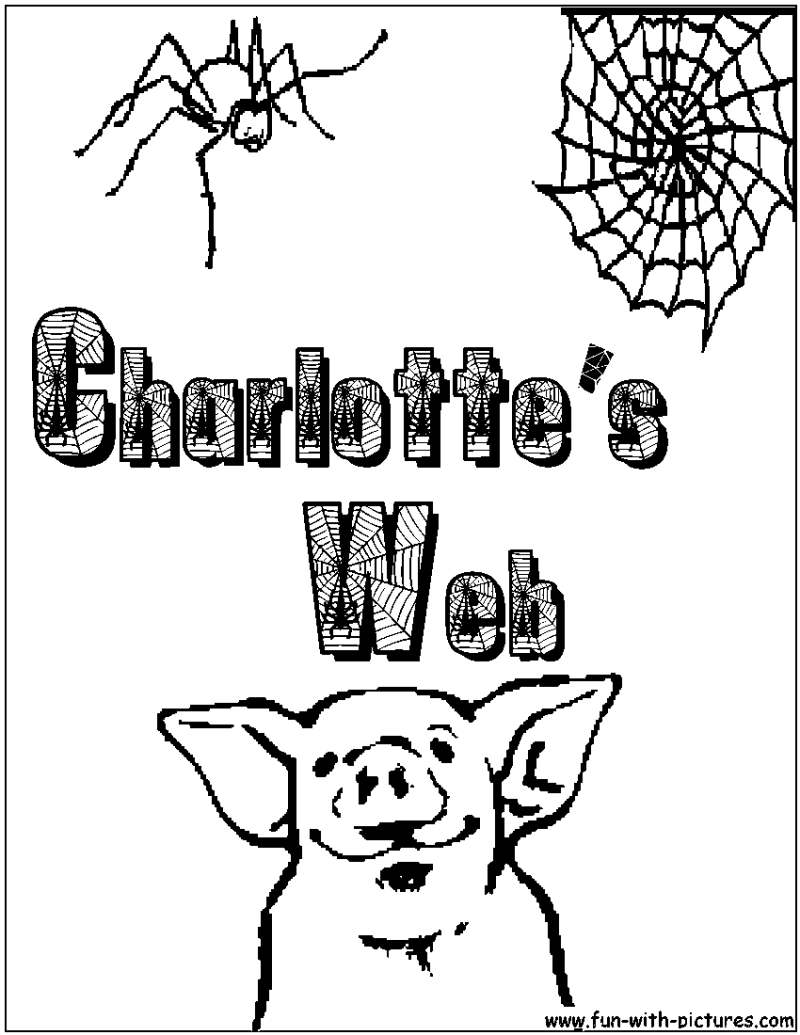 Free Charlotte S Web Coloring Pages - Coloring Home