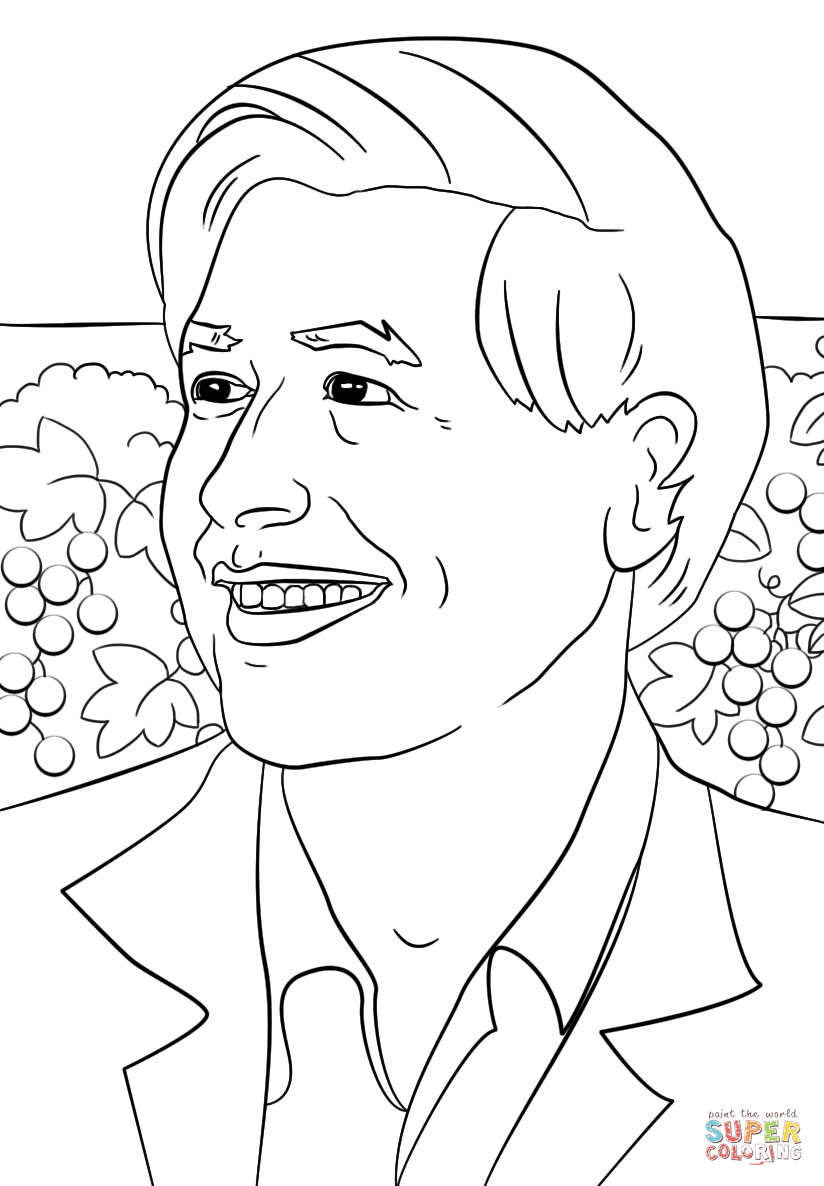 coloring pages about cesar chavez - photo#1