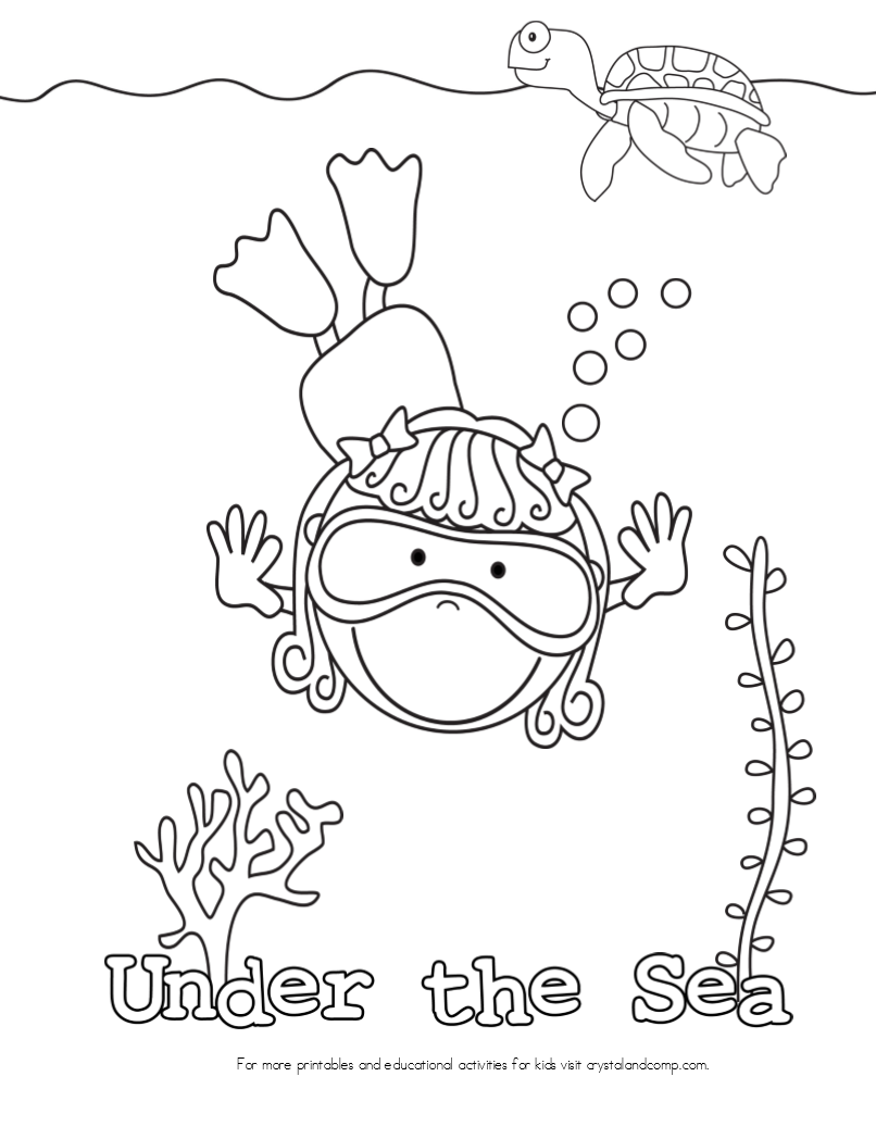 free ocean waves coloring pages - photo#25