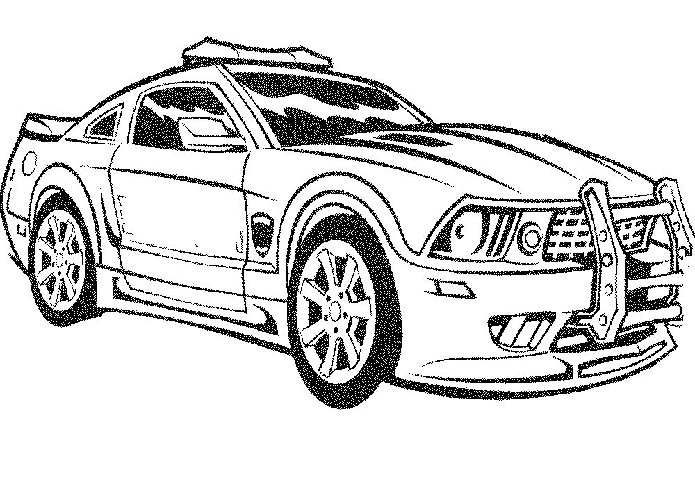 Tier Look Car Coloring Page Coloring Pages For Kids How To Make ...