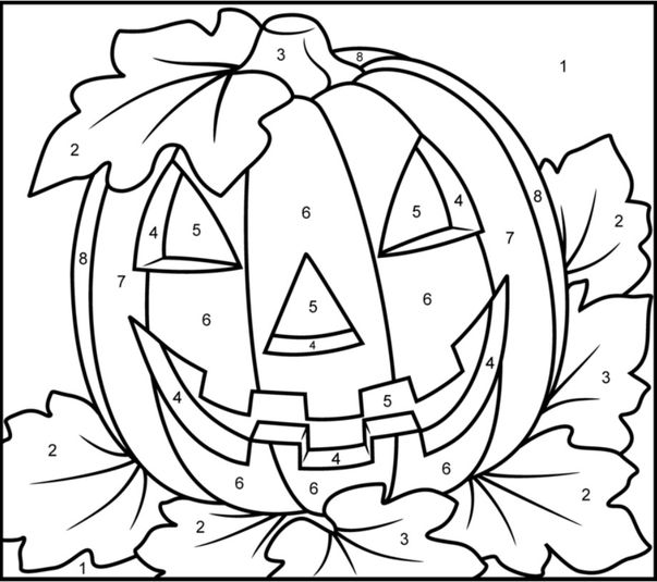 halloween letters coloring pages - photo#5