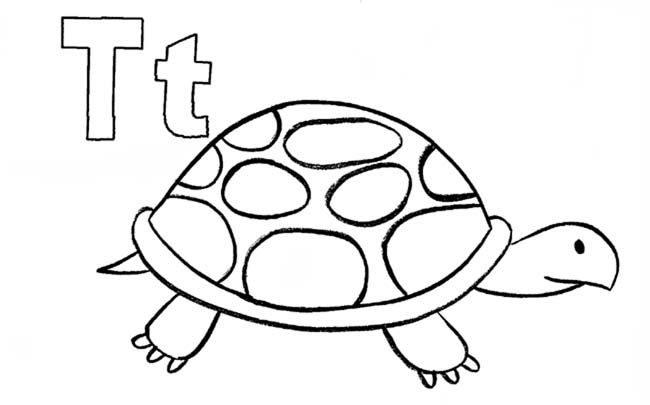 Letter T Coloring Pages For Preschoolers - letter f book letters ...