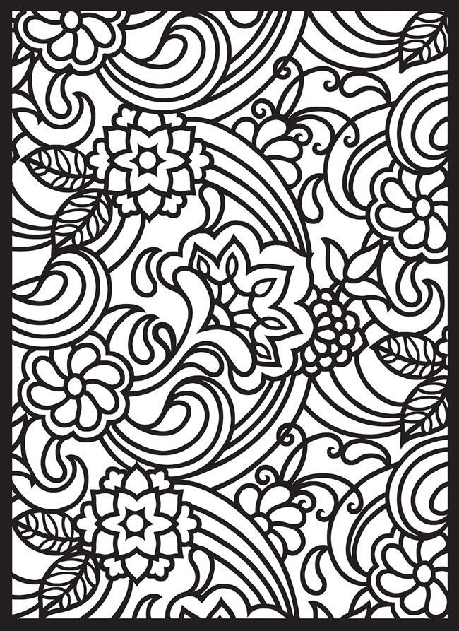 renaissance stained glass coloring pages - photo#36