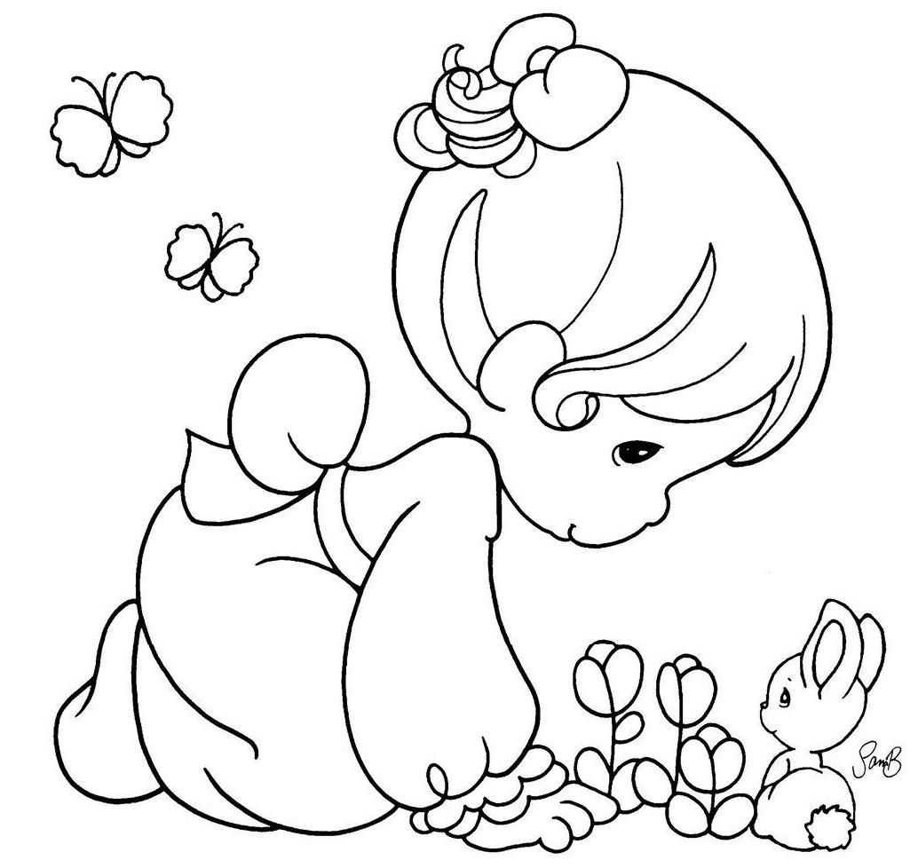precious moments coloring pages autumn - photo#5