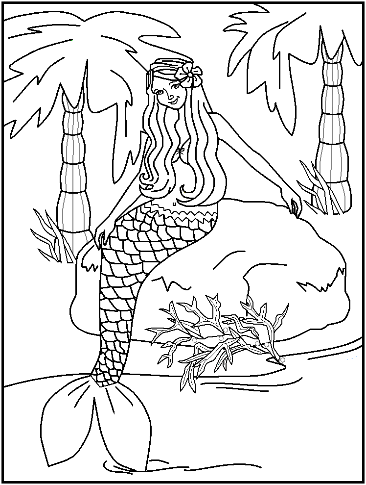 mako mermaid coloring pages coloring home