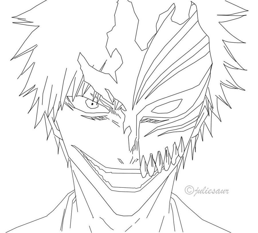 13 pics of bleach manga coloring pages anime bleach coloring