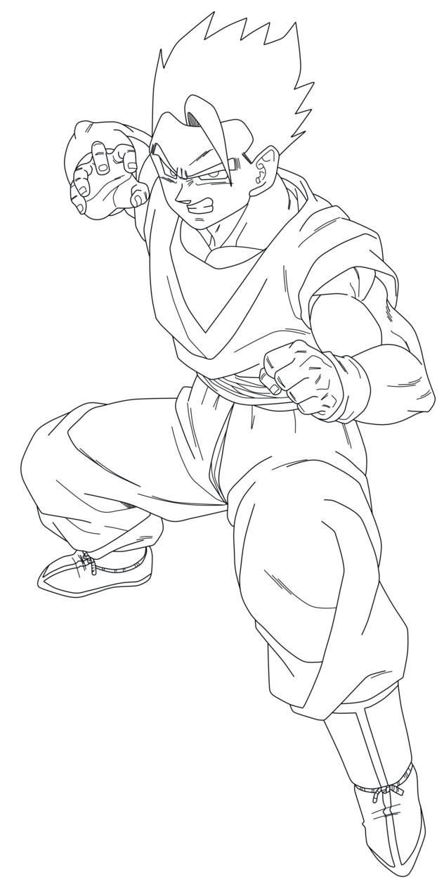 7 Pics Of Mystic Gohan Coloring Pages