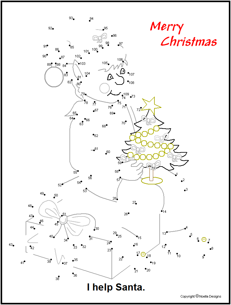 Coloring Pages Christmas Connect