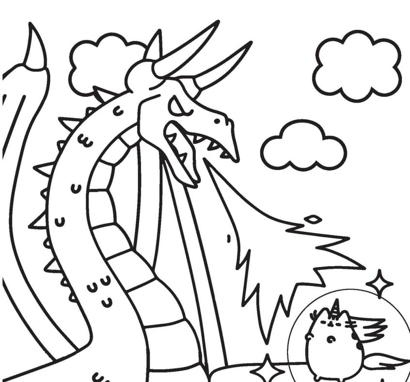 - Pusheen Coloring Pages - Coloring Home