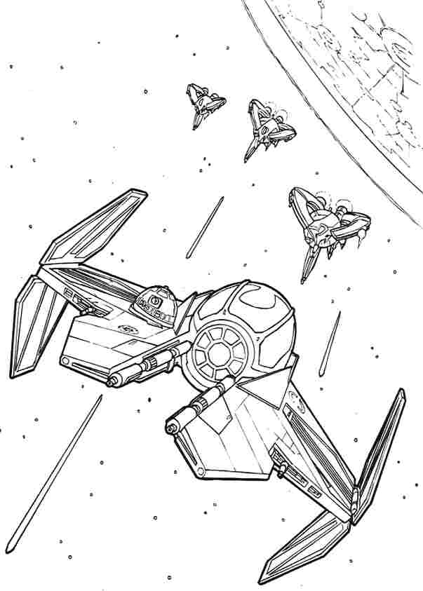 Adult Coloring Pages Star Wars Ships (Page 2) - Line.17QQ.com