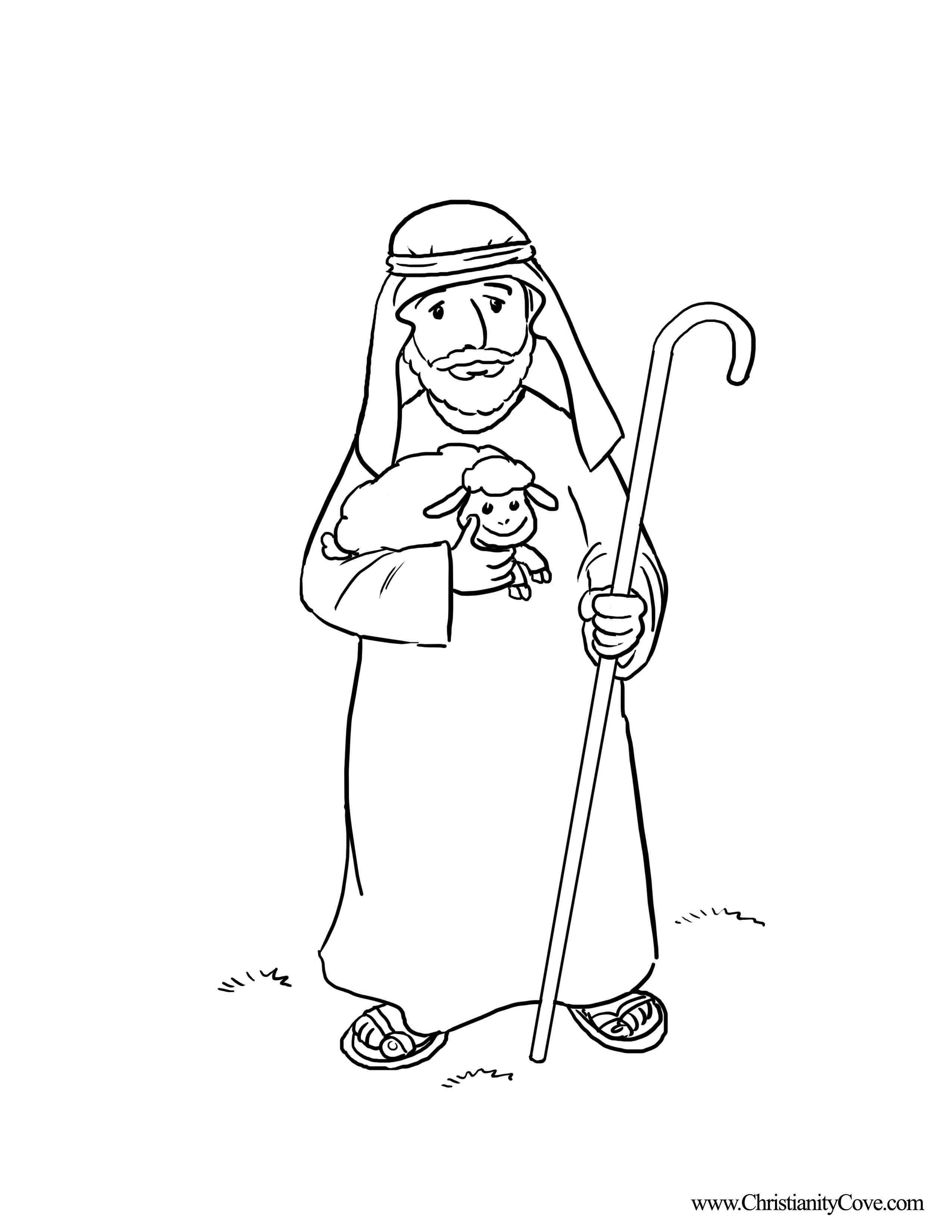 god is my shepherd coloring pages | The Lord Is My Shepherd Coloring Pages - Coloring Home