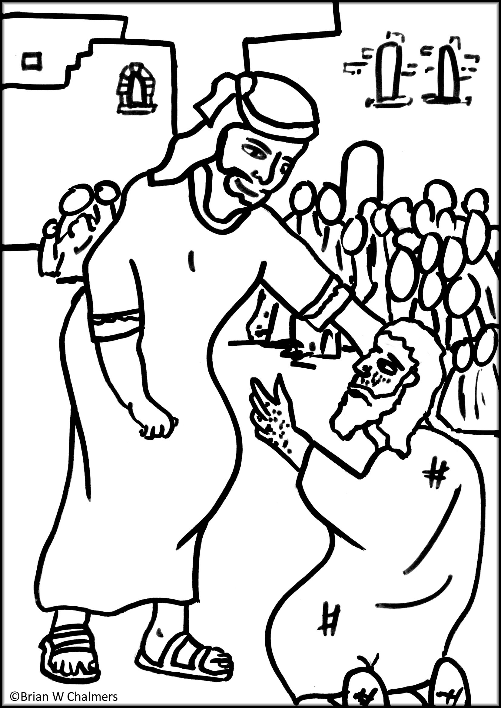 Coloring Pages Jesus Ehals - Coloring Home