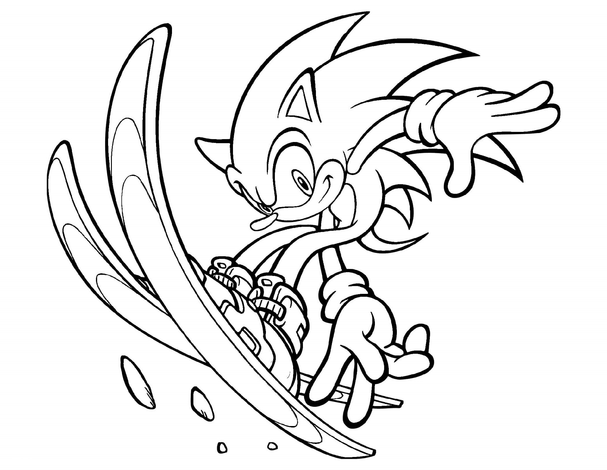 Sonic And Friends Coloring Pages - Coloring Home