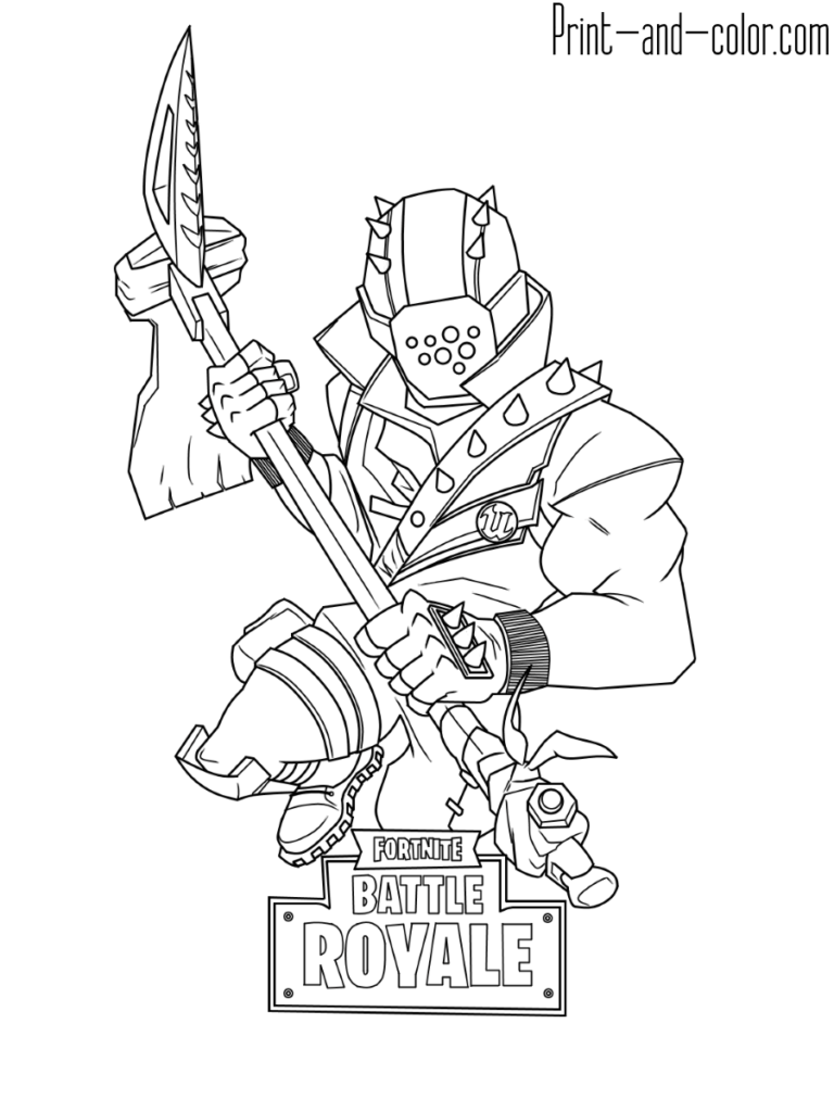 Fortnite battle royale coloring page Rust Lord | Cool coloring pages, Coloring  pages for boys, Coloring pages