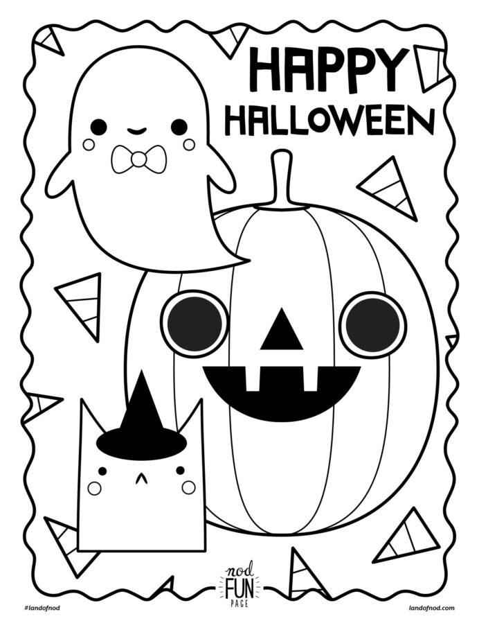 Preschool Halloween Coloring Sheets Worksheet Chinese New Year For Preschoolers  Free Halloween Coloring Pages For Preschoolers