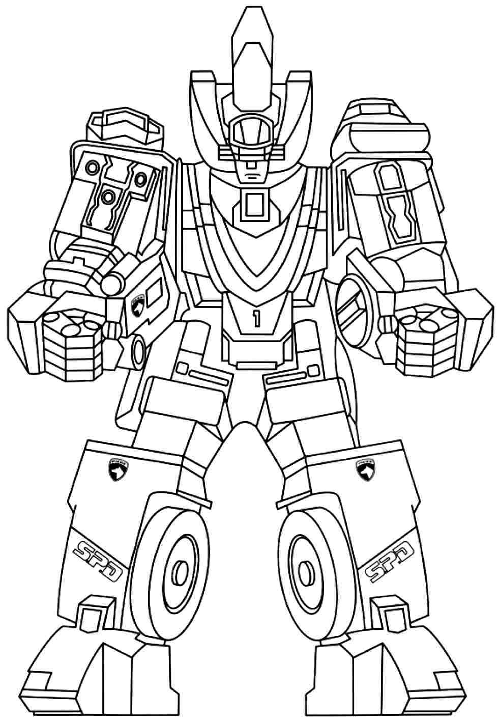 Power Rangers Colouring Pages ...pinterest.fr