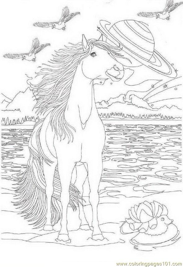 Bella Sara Coloring Pages To Print Coloring Home