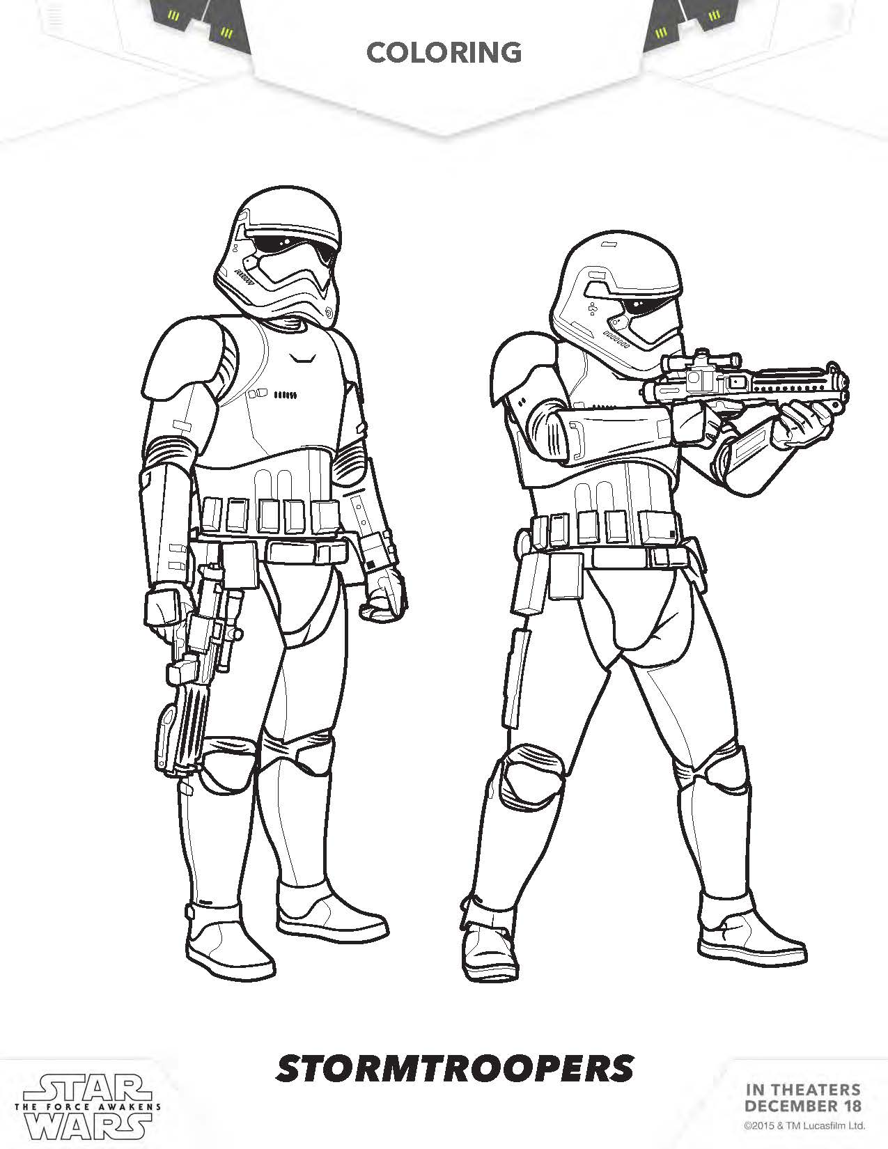 star wars storm trooper coloring pages coloring home
