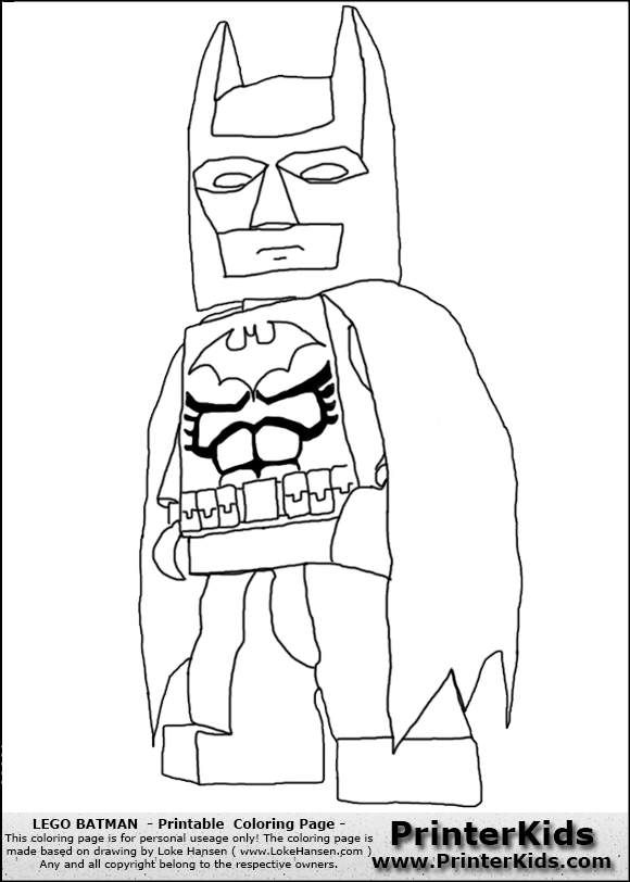 Lego Batman Pictures To Print Coloring Home