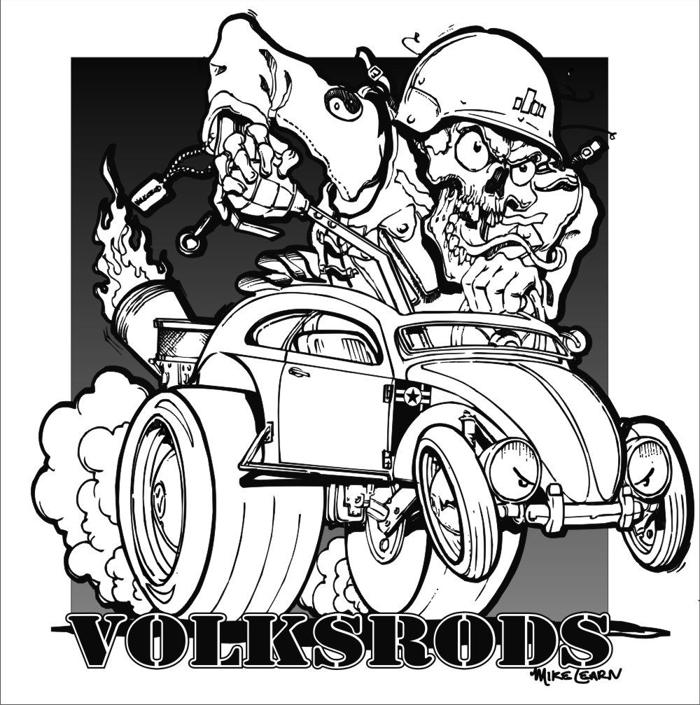 Rat rod coloring pages coloring home for Rat coloring pages