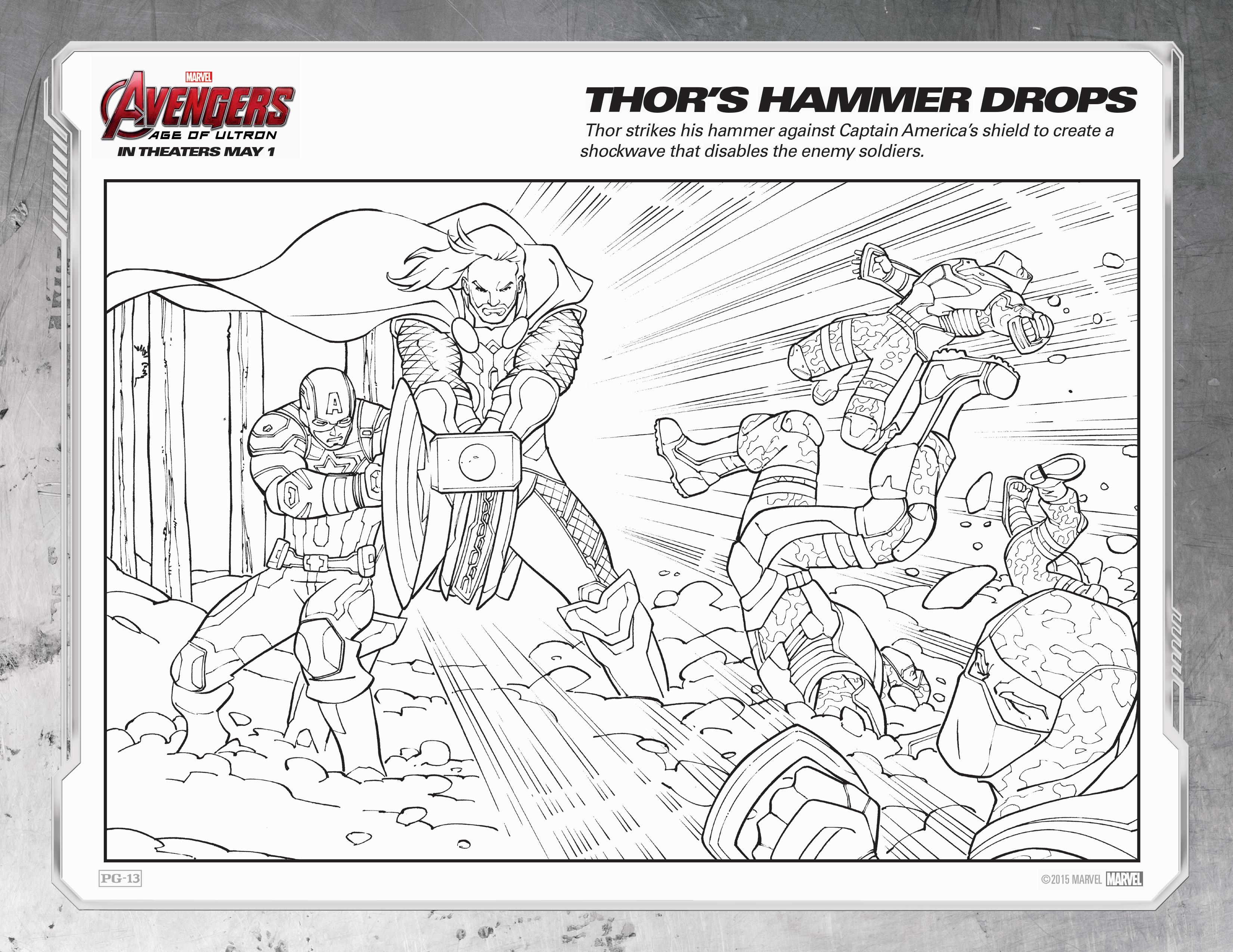 Ultron Coloring Pages Coloring