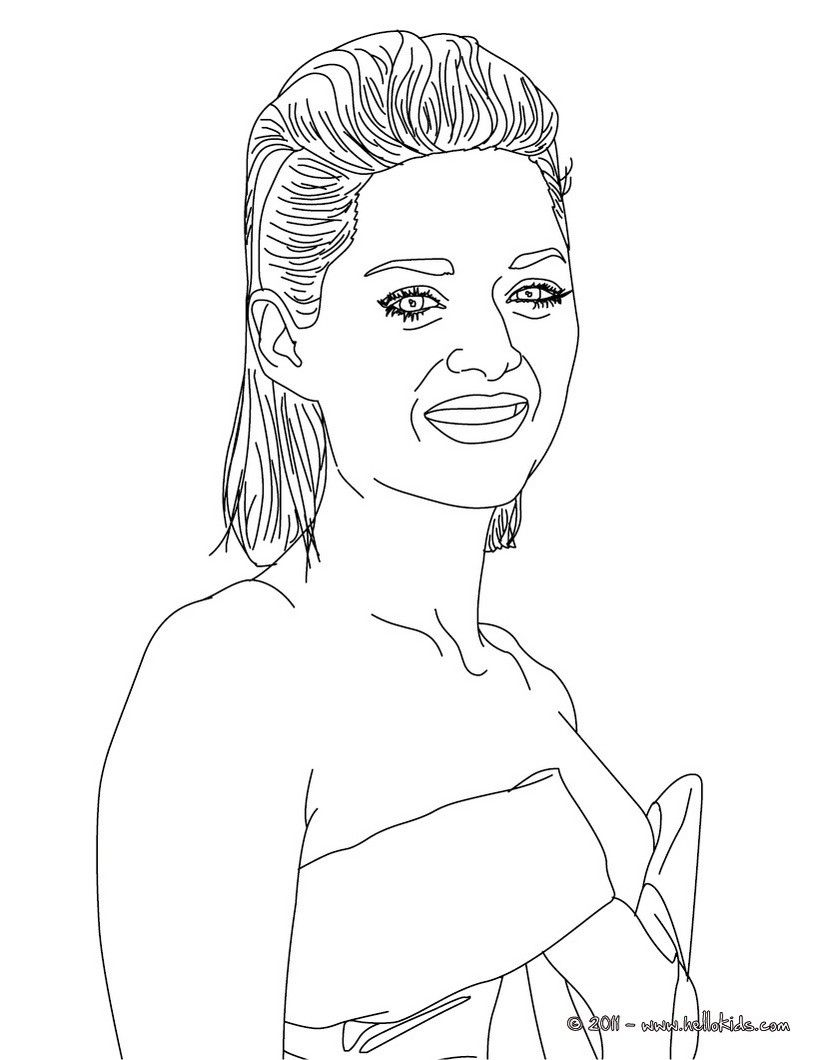 Free Coloring Pages Of Famous Women - Coloring Home