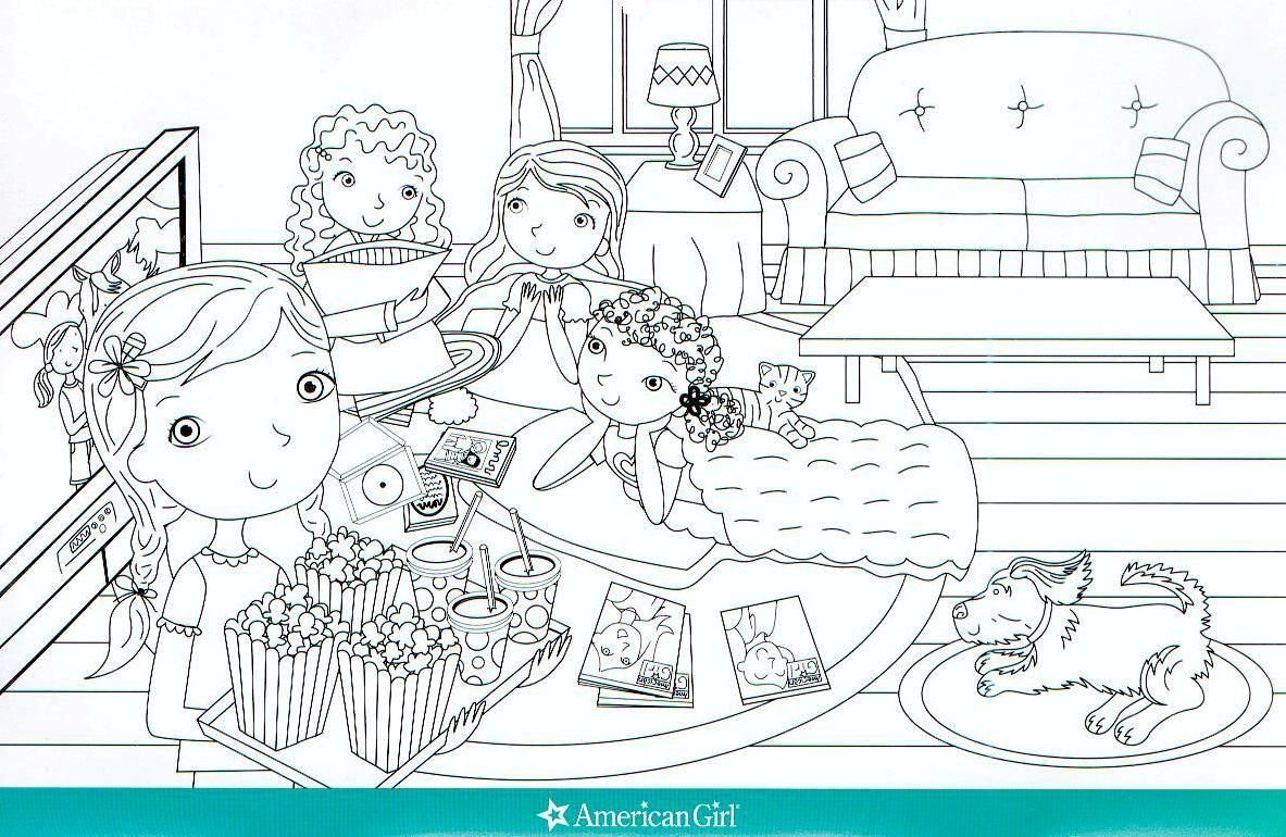 American Girl Grace Coloring Pages - Colorine.net | #16432