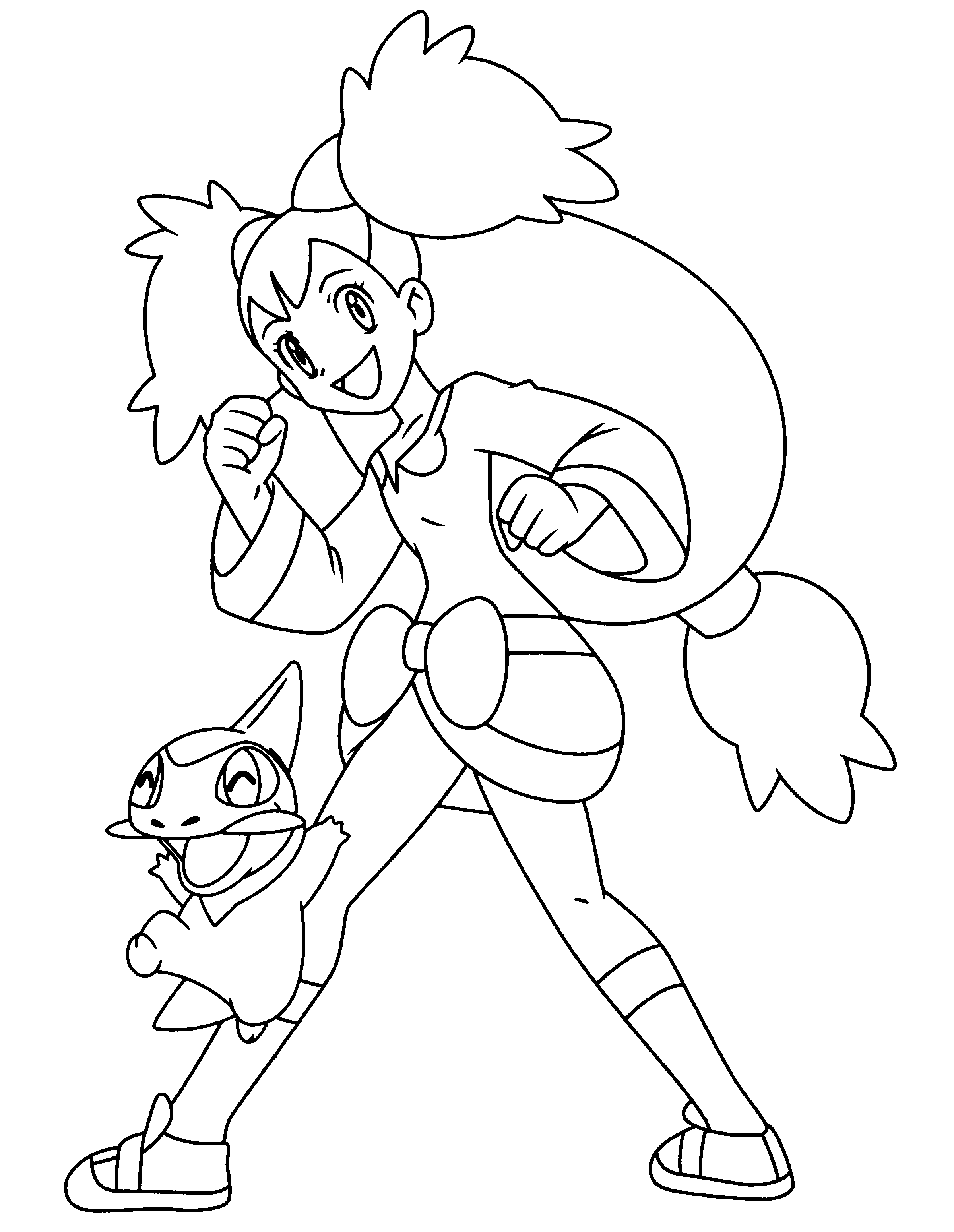 fraxure coloring pages - photo#32
