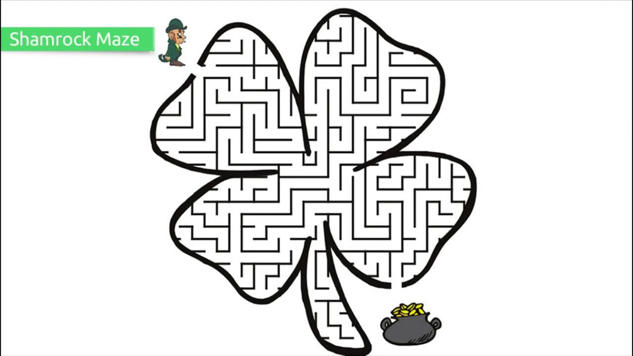 saint patrick day coloring pages to print coloring home