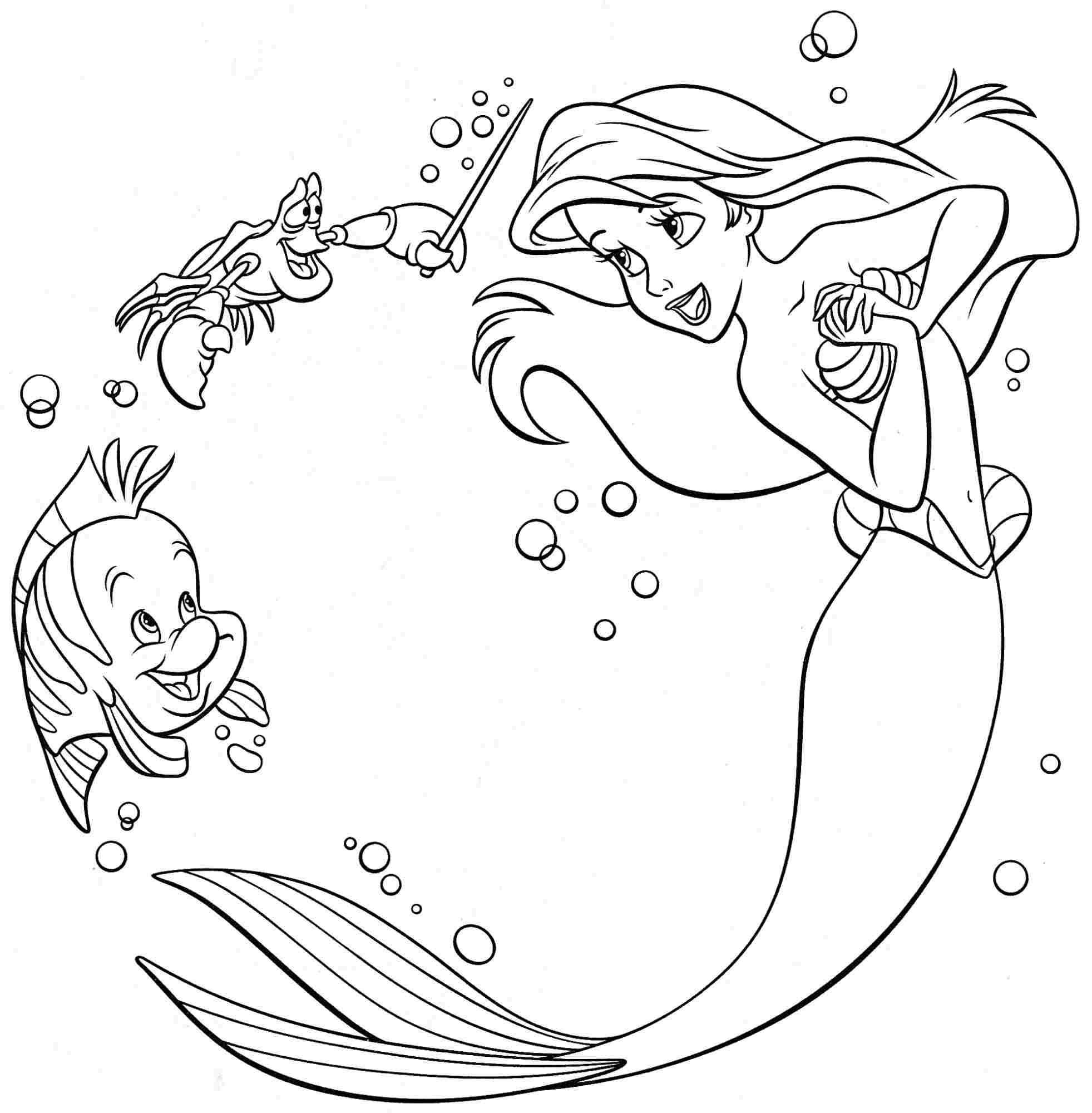 Princess Coloring Pages Pdf - Coloring Home