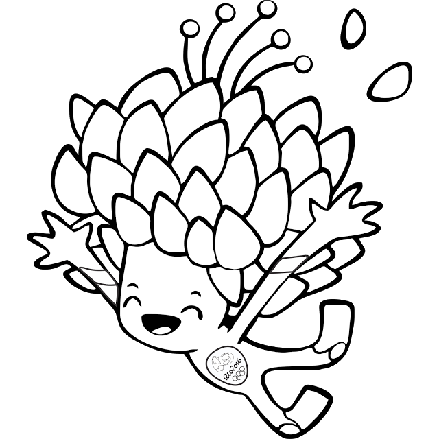 olympic mascots 2012 coloring pages - photo#18