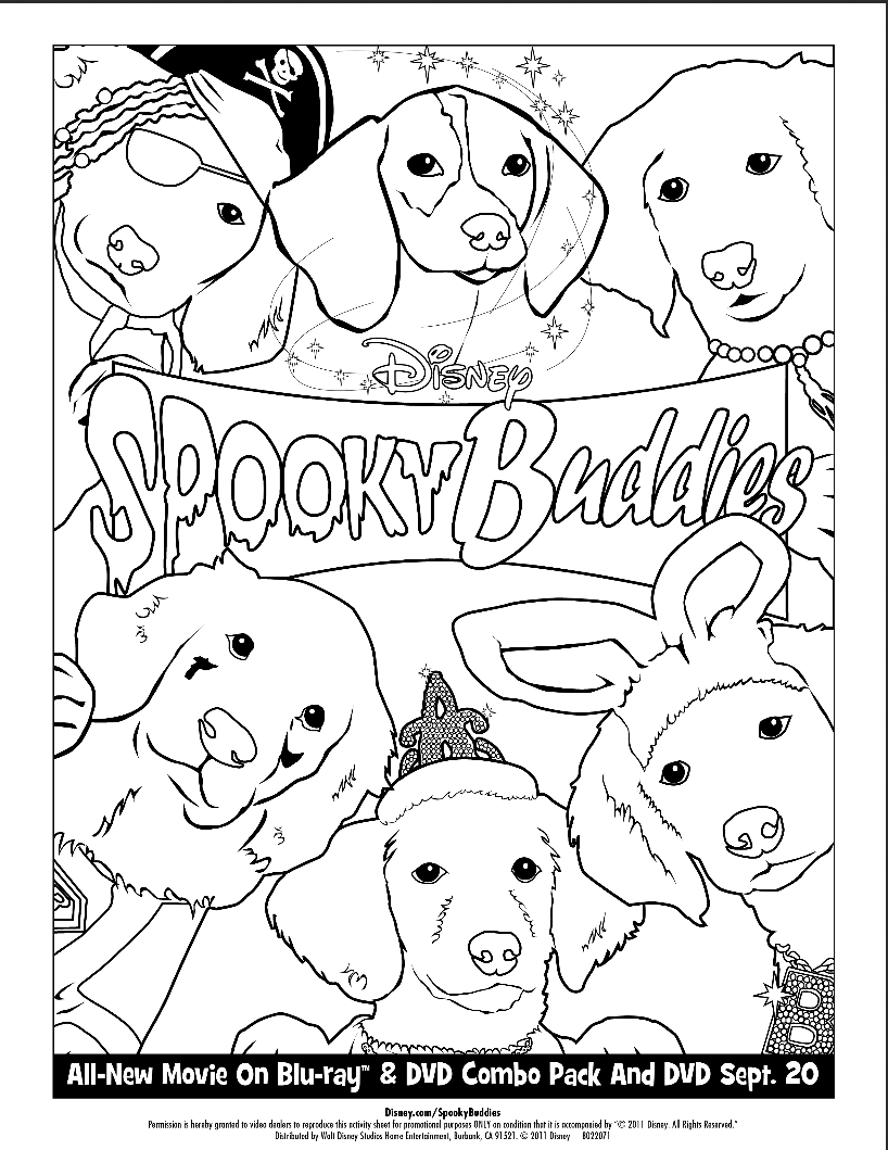 free snowbuddies coloring pages - photo#1
