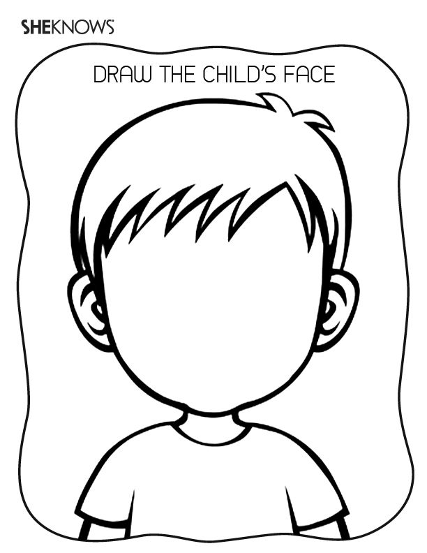 coloring pages on feelings - photo#13